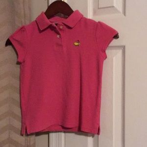 Other - Girl's Masters golf shirt
